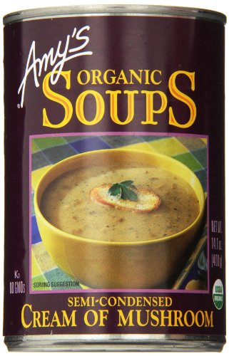 (Amy's Organic Soups, Cream of Mushroom, 14.1 Ounce (Pack of 6))
