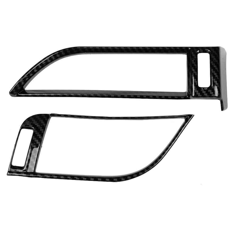 Suuonee Air Outlet Vent Frame, 2Pcs Front Air Outlet Vent Frame Decoration For Lexus ES200 2018 2019