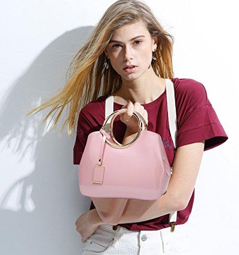 Shoulder Bag Crossbody Woman For Doris Bag Handbags amp; Nicole Pu Purses Black Pink qAw58z