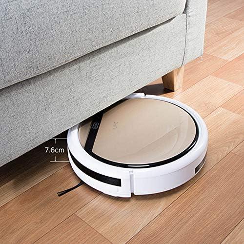 ILIFE V5sPro – Aspirateur robot intelligent avec 4 modes de nettoyage, détecte les poils d'animaux – Idéal pour sols durs et tapis – Auto-charge – Doré luxueux - Home Robots