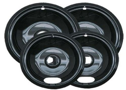 Range Kleen Porcelain Electric Stove Replacement Drip Pans Bowls Burner
