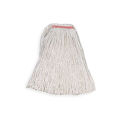 Rubbermaid Commercial Cut End Cotton Mop, White, FGF11700WH0