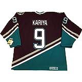 Paul Kariya Anaheim Mighty Ducks 1997 CCM vintage jersey