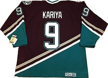 new products 990cc 41d48 Paul Kariya Anaheim Mighty Ducks 1997 CCM vintage jersey