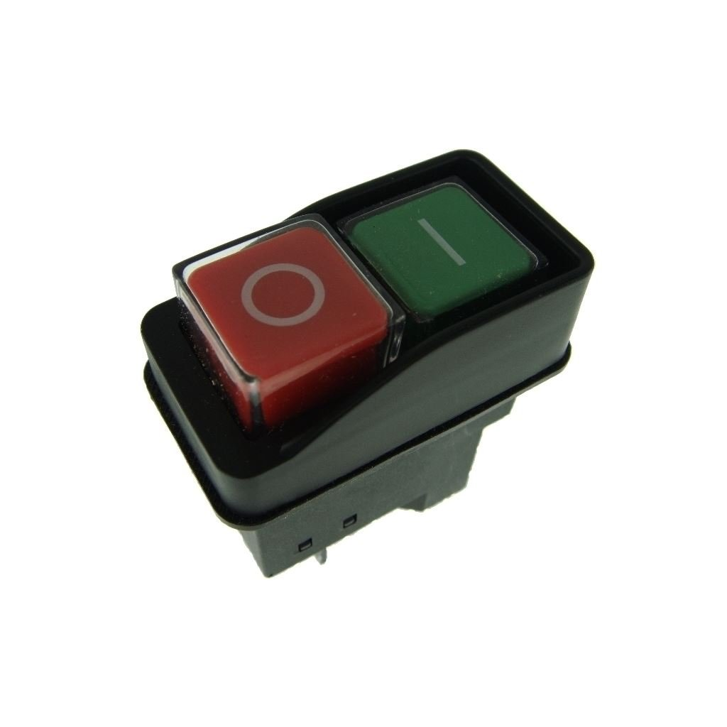 Ufixt® On Off Switch Button Fits Belle Minimix 140 and Minimix 150 240V Electric Cement Concrete Mixer