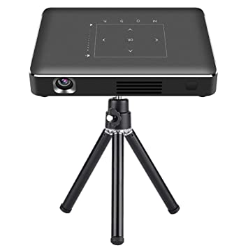 Mini DLP Video Projector, P10-II Octa-Core 16G Mobile DLP ...