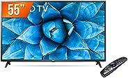"Smart TV LED 55"" 4K UHD LG 55UN731C, 3 HDMI, 2 USB, Wi-Fi, Assistente Virtual e Blue"