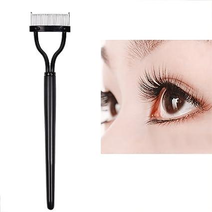 Rizadores de Pestañas peine ealine cepillo de cejas herramienta cosmética maquillaje cepillo máscara de pestañas aplicador