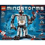LEGO MINDSTORMS EV3 Building Set Includes 3 Interactive Servo Motors, Remote Control, Improved And Redesigned Color Sensor, R