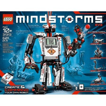 Building Set Includes 3 Interactive Servo Motors, Remote Control, Improved And Redesigned Color Sensor, Redesigned Touch Sensor, Infrared Sensor And 550+ LEGO Technic Elements ()