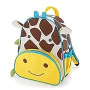 Skip Hop Toddler Backpack, 12″ School Bag, Giraffe