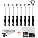 Senrob 8 Pcs Carburetor Adjustment Tool Kit with Cleaning Needles&Carrying Case, Tune-up Adjustment Tool for Common 2 Cycle Carburetor Engine