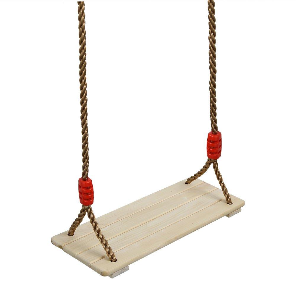 Pellor–madera de pino Swing asiento jardín porche Swing silla para niños Kids HWQQ20