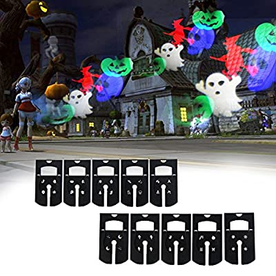Christmas Projector Led Lights Waterproof Landscape Projection Light,Auto Rotating Snowflake Spotlight