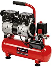 Einhell 4020600, TE-AC 6 Silent, Compressor, Tank 6 L, Rood/Zwart