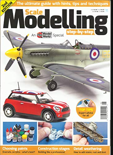 Modelling Magazine - SCALE MODELLING MAGAZINE, TOP TIPS EXPERT ADVICE FOR ALL 2nd EDITION SPECIAL ISSUE, 2018 ( PLEASE NOTE :: ALL THESE MAGAZINES ARE PET & SMOKE FREE MAGAZINES. NO ADDRESS LABEL. FRESH FROM NEWSSTAND ) ( SINGLE ISSUE MAGAZINE )