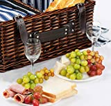 Picnic Basket Set for 4 Person | INSULATED Picnic