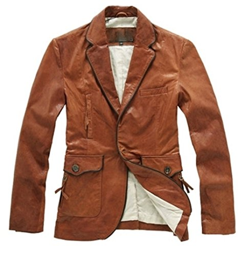 Nappa Leather Blazer - 5