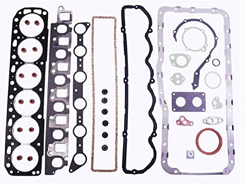 Ford 4.9 300 L6 Full Engine Gasket set with head bolts 1988-96