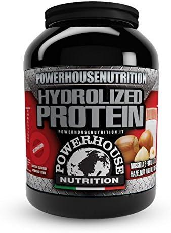 Proteína hidrolizada sabor avellana, 1 kg: Amazon.es ...