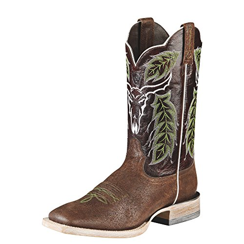 Ariat Men's Outlaw Western Cowboy Boot, Chico Brown, 12 M US