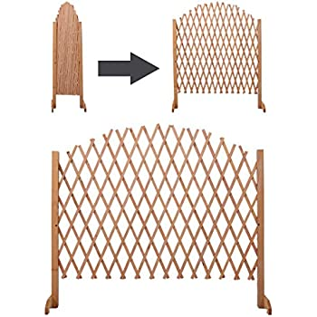 Amazon Com New Expandable Patio Fence Wooden Screen