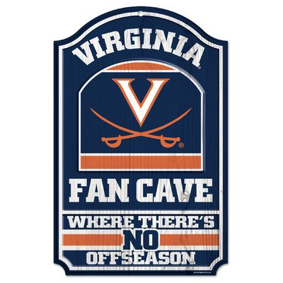 NCAA University of Virginia Wood Sign, 11