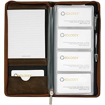 Amazon rolodex explorer collection business card book 96 card rolodex explorer collection business card book 96 card brown 22336 colourmoves
