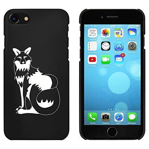 Noir 'Renard' étui / housse pour iPhone 7 (MC00058145)