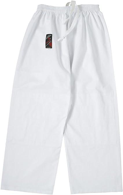 Fuji Mae Pantalon de Karat/é Blanc
