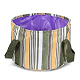 Cheap REDCAMP Camping Collapsible Bucket, 12L Outdoor Folding Water Container Lightweight & Portable