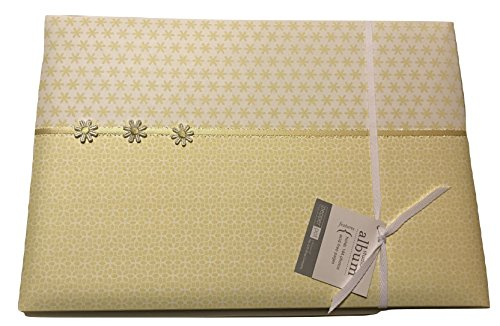 Pepperpot Modern Eyelet Studio Photo Album with Yellow Flowers by Pepperpot