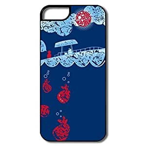 Fashion Slice Life Plastic Case Cover For IPhone 5/5s
