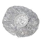 Ear Protector Waterproof Clear Earmuffs for Hair Dye, Shower, Bathing Ear Cover Caps 100pcs (100pcs)