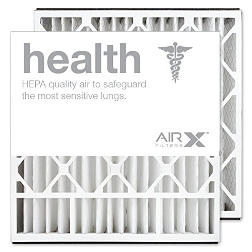 AIRx Filters Health 20x20x5 Air Filter MERV 13 Replacement for Skuttle 000-0448-003 000-0448-007 to Fit Media Air Cleaner Cabinet Skuttle DB-20-20, 2-Pack -  AIRx_HE_20x20x5-SK_2PK