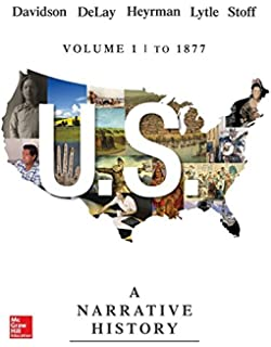 com us a narrative history volume since  us a narrative history volume 1 to 1877