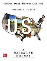 U.s.: A Narrative History to 1877, 7th Edition Cover
