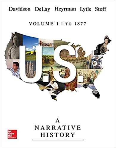 Amazon us a narrative history volume 1 to 1877 9780073513300 us a narrative history volume 1 to 1877 7th edition fandeluxe Image collections