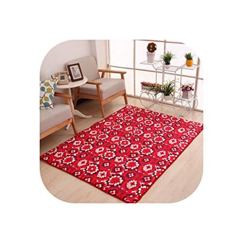 80 X120Cm Thicken Bedroom Mats Living Room Printing Blankets Home Rugs Bathroom Toilet Cushions Door Mat Carpet,13,100Cm X160Cm