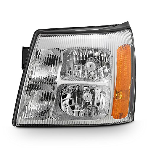ACANII - For 2003-2006 Cadillac Escalade HID Model Replacement Headlight Headlamp - Driver Side ()