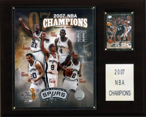 - NBA Spurs 2006-07 NBA Champions Plaque