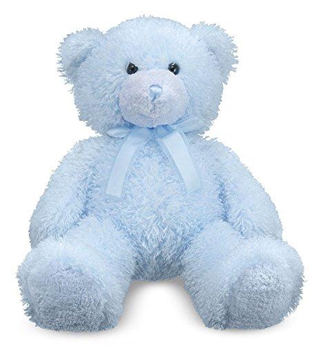 Blue Bear Stuffed Animal - Melissa & Doug Cotton Candy Teddy Bear Stuffed Animal - Blue (over 2 feet tall)