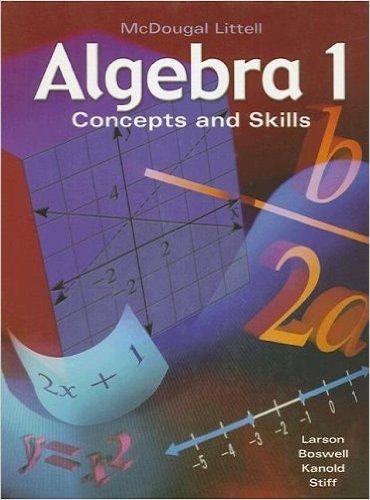 High School Math Standards (McDougal Littell High School Math: California Standards Key Concepts Book Teacher Edition Algebra 1)