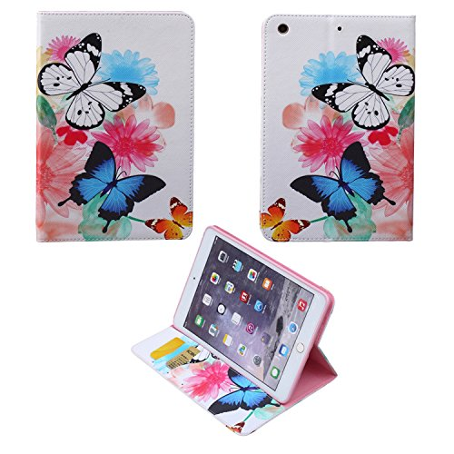 iPad mini Case, iPad mini 1/2/3 Case,Stylish Art Printed Flip PU Leather Stand Protective Case ,New Style Colorful Premium PU Leather Folio Case For iPad mini 1/2/3 (Cheap Covers Quilt Online Buy)