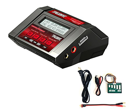 Thunder Power RC TP610HVC 1-6 Cell AC/DC Lipo Battery Charger, 10 Amp, 100 Watt ()