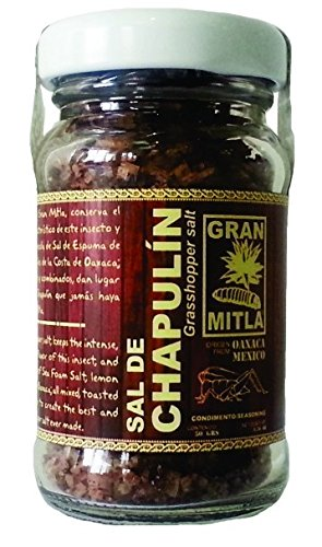 Gran Mitla Sal de Chapulin (Cricket Salt) 50 Gram Jar by Gran Mitla (Image #1)