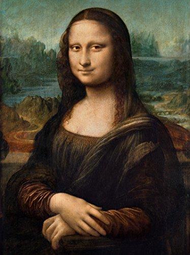 Mona lisa puzzle 1000