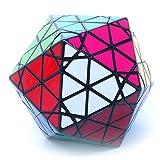 MF8 Radiolarian Black Icosahedron Face Turning Twisty Puzzle Cube Toy