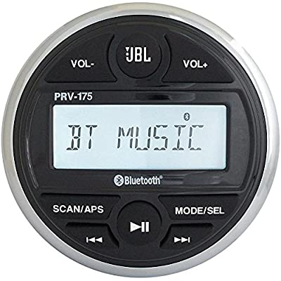 Jbl Prv 175 Am/fm/usb/bluetooth Gauge Style Stereo by JBL