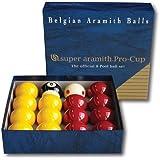 Billes ou Boules de Billard Pool Super Aramith Pro Aramith 50,8 mm - Aramith